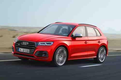 Новото Audi SQ5 пристига с по-мощен V6 бензинов двигател с 349 кс